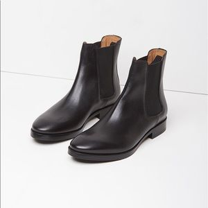 Acne Studios Bess Black Leather Chelsea Boots